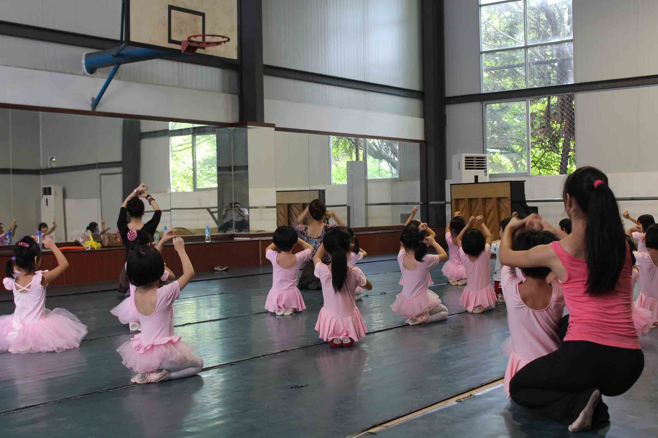 舞蹈课堂照片